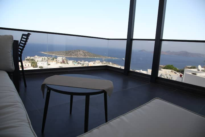 MODERN HOUSE with AMAZING VIEW