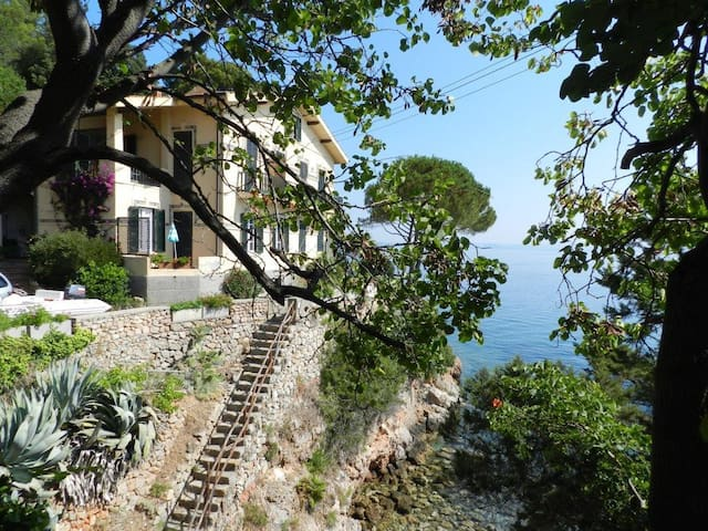 Lovely beach historic house, apt 1 - Porto Santo Stefano - Lägenhet
