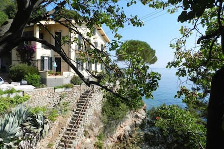 Lovely beach historic house, apt 1 - Porto Santo Stefano - Apartment