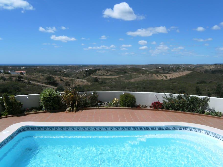 Casa Vida Doce: view to the sea, Tavira, Ria Formosa / uitzicht naar zee en de Ria Formosa