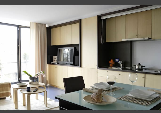 Design apartment in the citycenter - Ourense