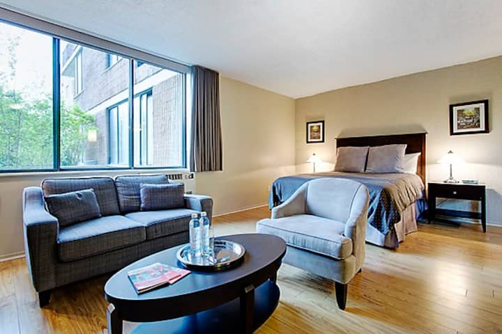 Large Studio apartment downtown Montreal