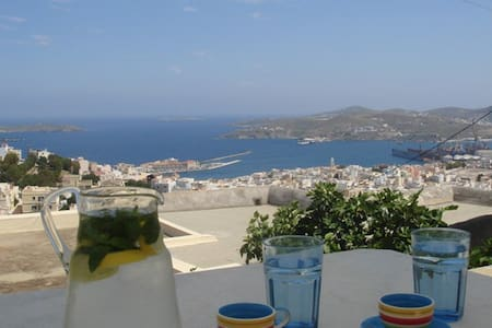 Spectacular Ano Syros for 2 people - Ano Syros - Apartment