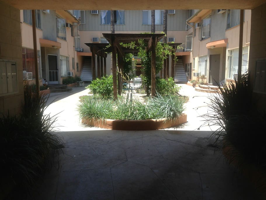 Courtyard - great place to chill with a glass of wine at night or sun bath in the morning and afternoon.