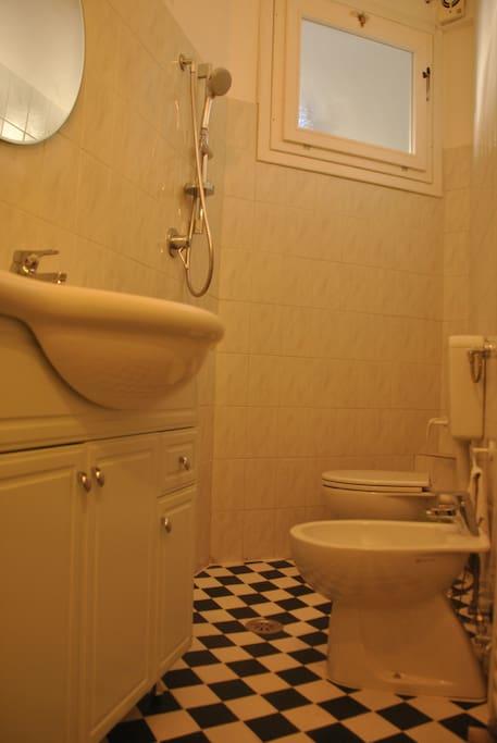 bagno di servizio al primo piano