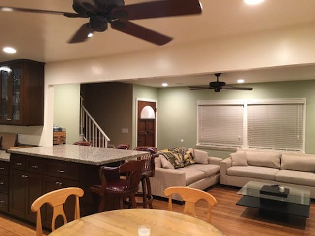 Recently Remodeled 3 BR house centrally located