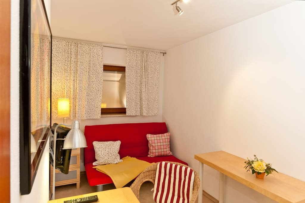 Cosy room- near to the trade fairs