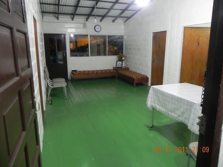 Parte superior de la casa (Sala de estar)