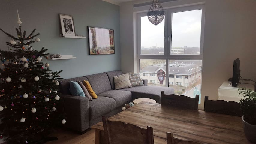Cosy apartment with cityview - Utrecht - Daire