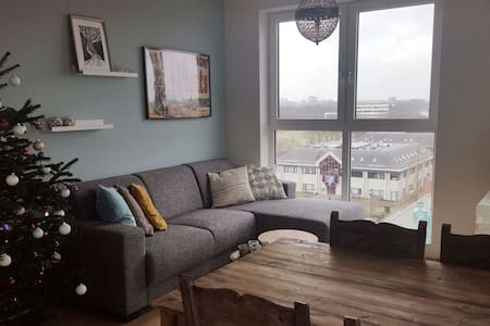 Cosy apartment with cityview - Utrecht