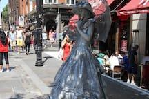 Street Entertainment Covent Garden