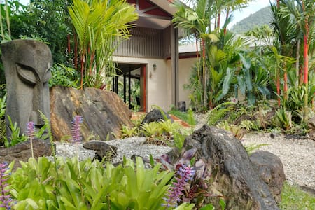 Tropical Acreage Gardens+Pool+Creek - Haus