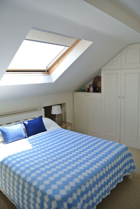 Light and airy main bedroom