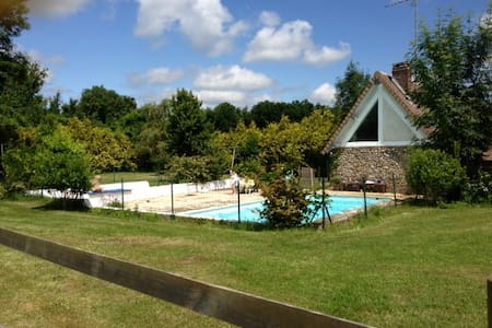 country house close to Giverny  - Le Cormier - Hus