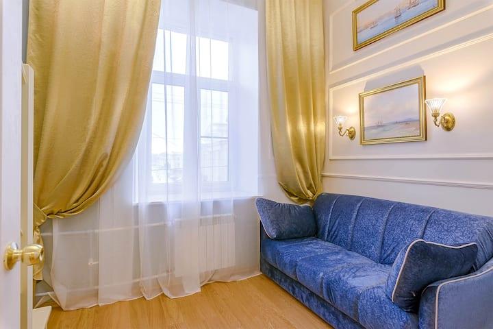 2 bedroom apartment by Nevsky prospect