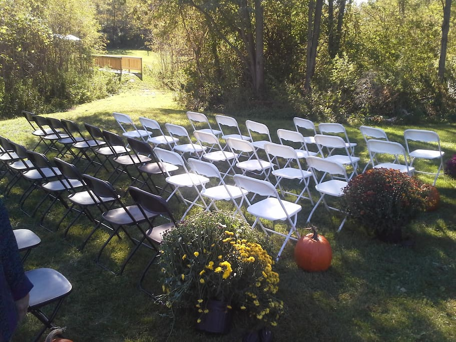 Romance Valley Retreat welcomes weddings and other family events