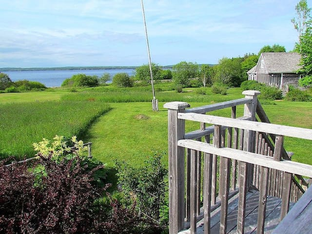 Enchanting Four Acre Ocean Front Cottage with Dock - Port Medway