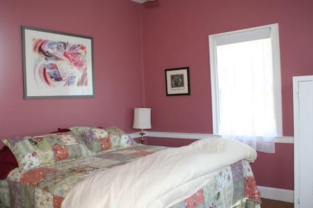 Hopkins House Farm Rosenquist room - 塞勒姆 - 住宿加早餐