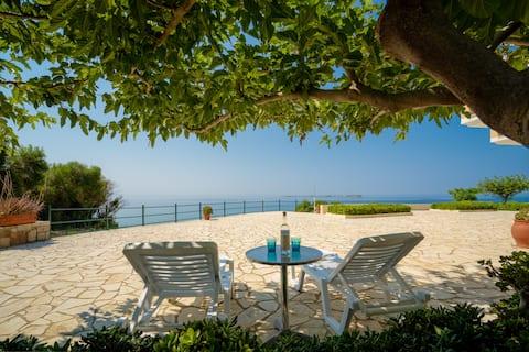 Villa Vounaria 1/20 metrin päässä rannasta