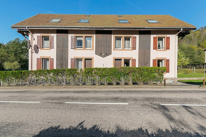 Spacious Apartment in La Bresse with Terrace
