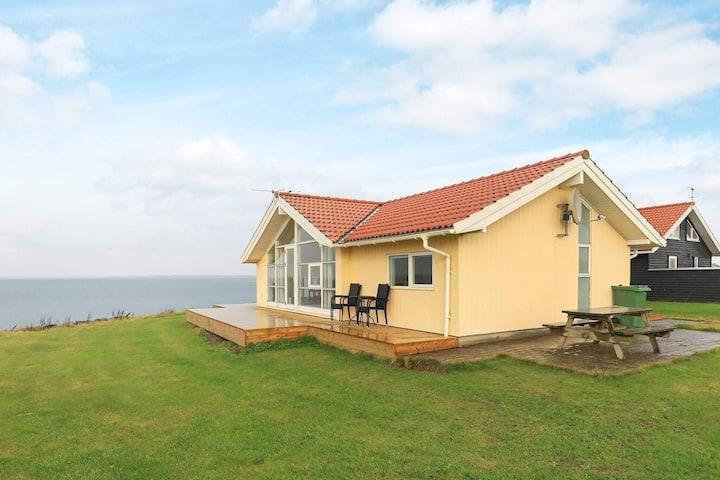 Fantastique maison de vacances à Vinderup avec barbecue