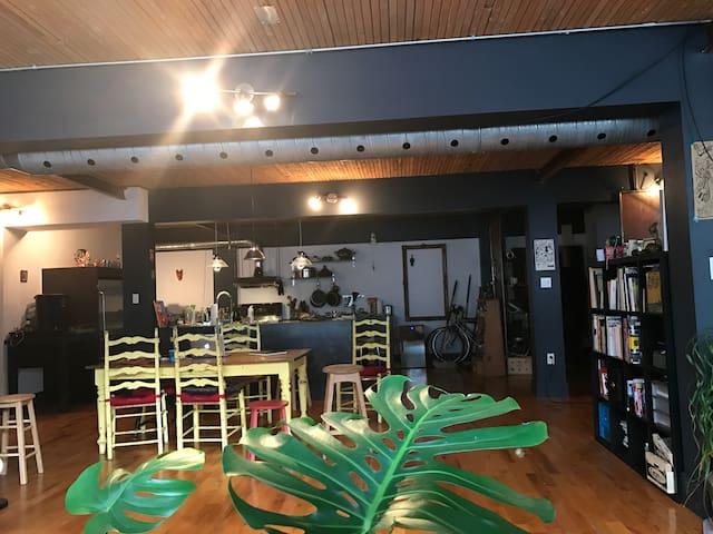 grand loft, confortable et calme - Montreal - Loft