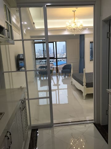 位于淹城旁的阳光充沛小公寓住处 - Changzhou - Appartement