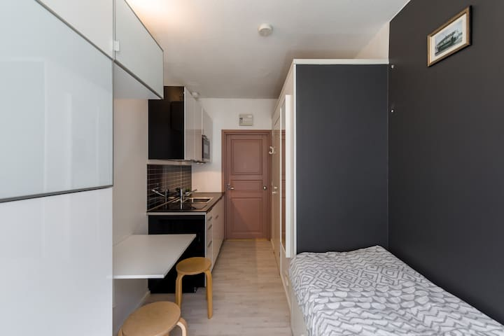 Cute & Quiet Studio City Center Kamppi
