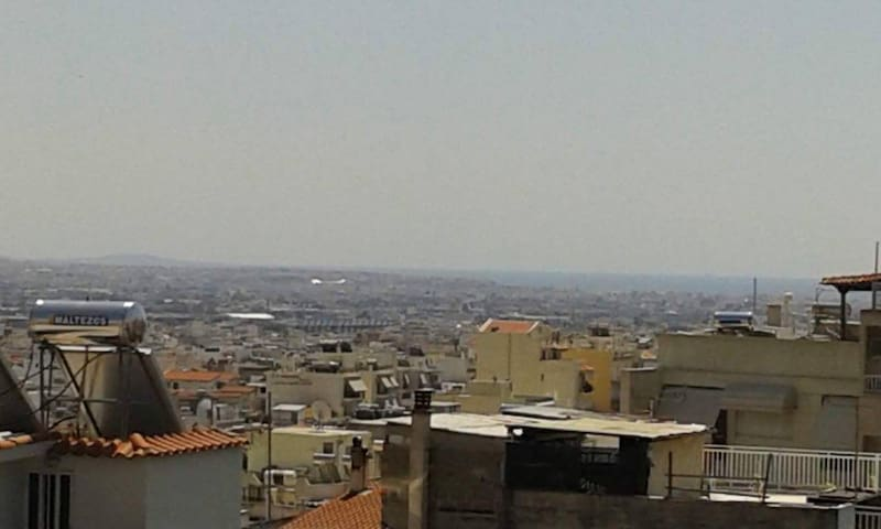 Family/Group Flat with Great View of Athens. - Egaleo - Apartamento