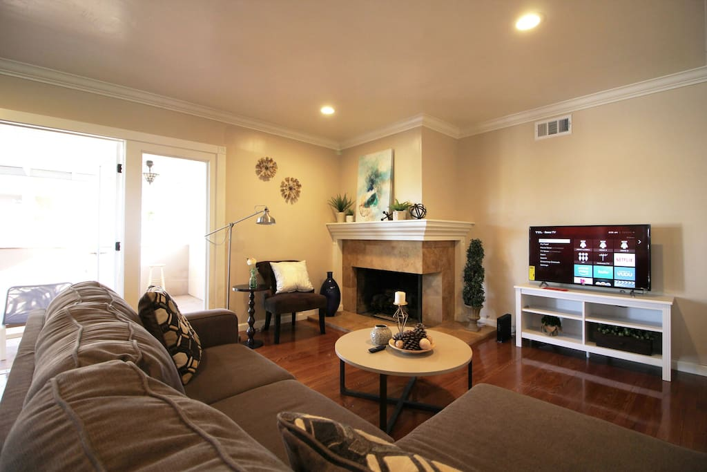 Newly Renovated and Spacious Living Room (Day View)