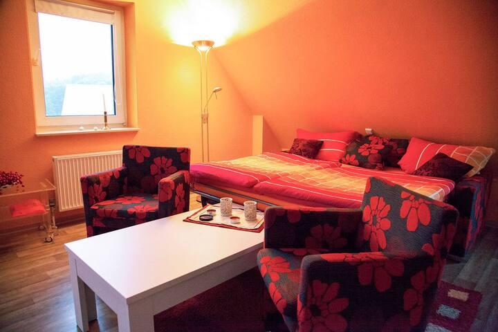 Haus am Grün - Studio 1 für bis zu 4 Personen