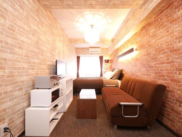 Designer's AP 5min to Shinjuku #15 - Shibuya-ku - Apartment