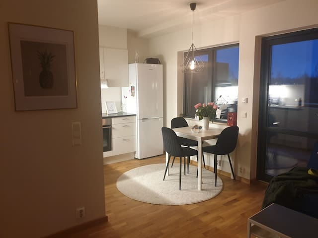 2 bedrooms, close to Oslo airport