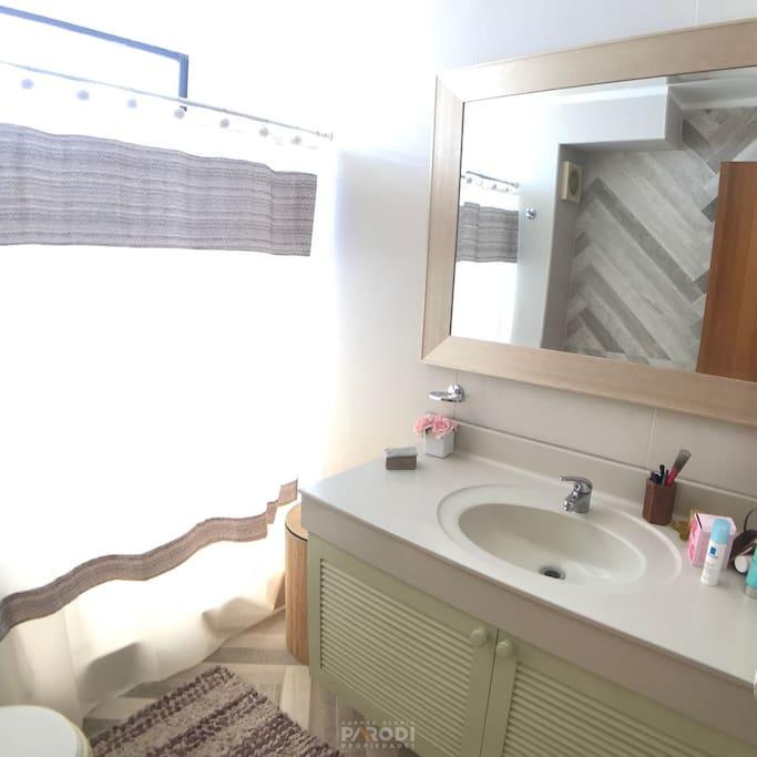Baño privado remodelado