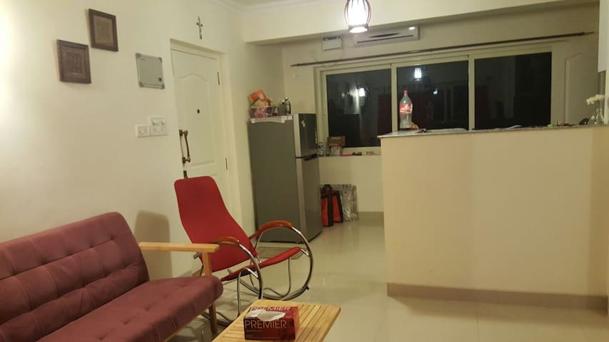 1BHK Service apartment 2.5KMs from Main Mapusa. - Arpora - Lejlighed