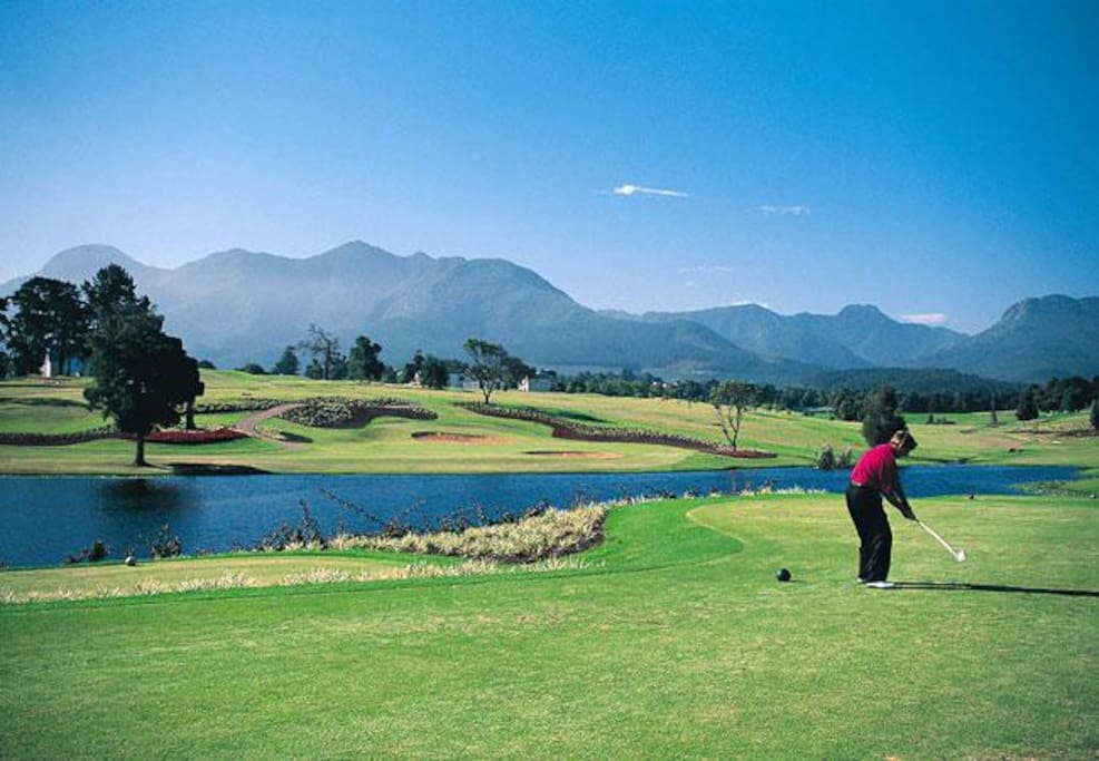 Golf course at Somerset West