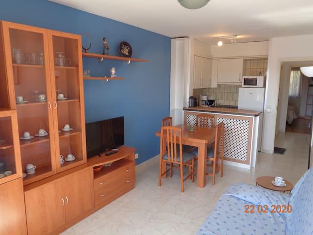 Apartamento luminoso con vistas a 70m del mar