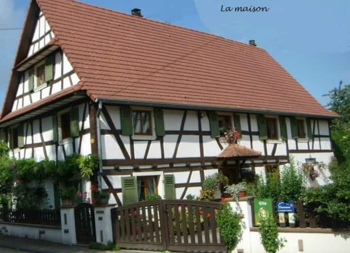Gîte Rustique Vosges du Nord