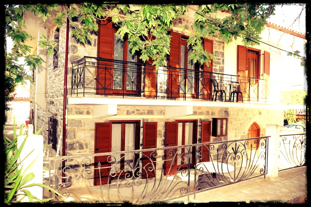 Another view of our guesthouse