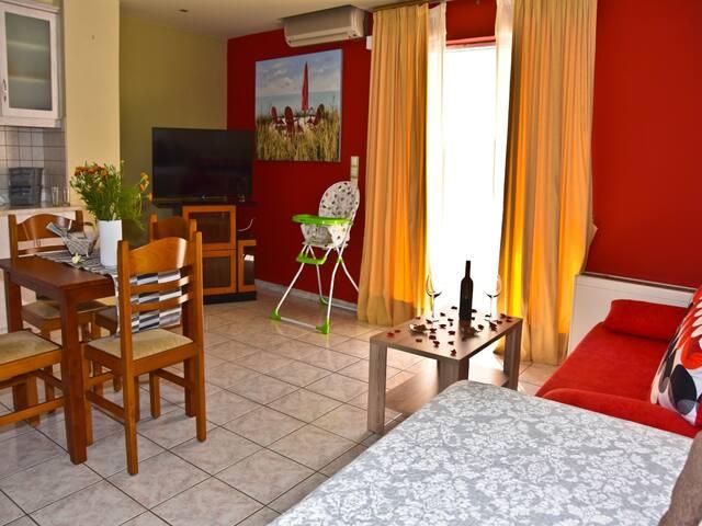NEA CHORA,beach&city Angela home