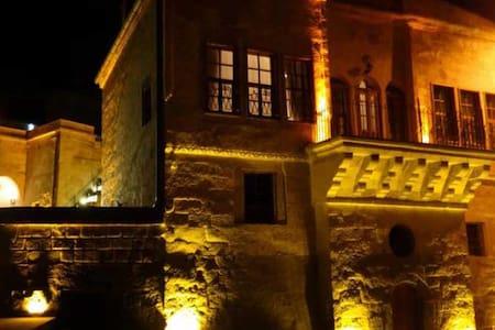 Tulpar Konak Cave Hotel - Mustafapaşa Belediyesi - Inap sarapan