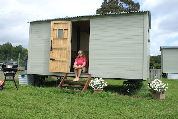 ShepherdsHut-Unique,RusticStrawberr - Ashford - Barraca