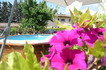 Near Florence, Apatment in Country House Chianti - San Casciano in Val di Pesa - Bed & Breakfast
