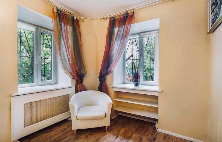 Квартира в стиле Кантри/10 min away from Kremlin