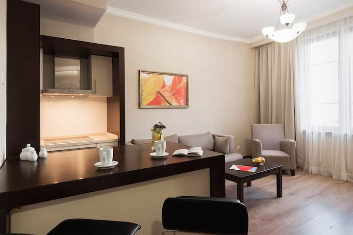One-bedroom apartments - Krasnaya Polyana +540