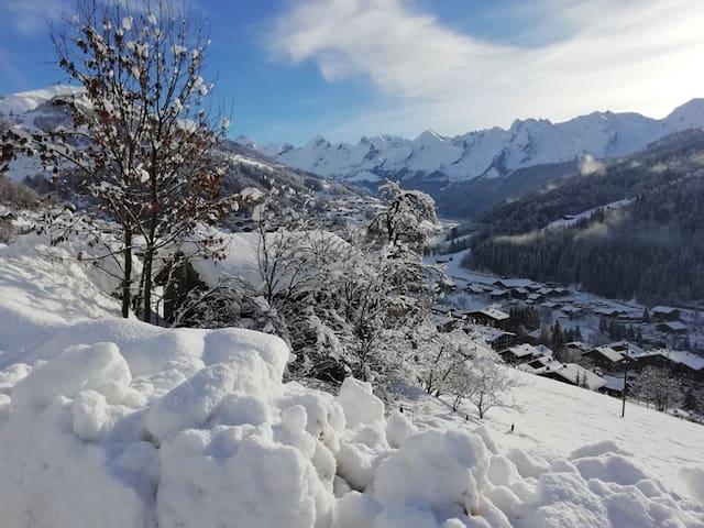 Chalet cosy au coeur des montagnes