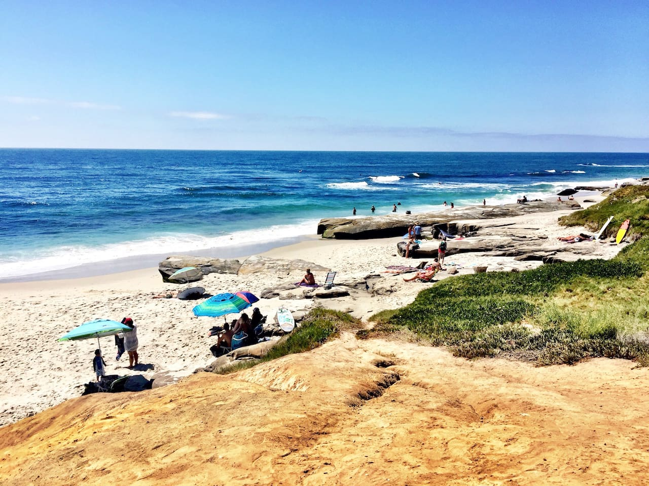 Windansea Beach, Bird Rock, La Jolla Village and Shores