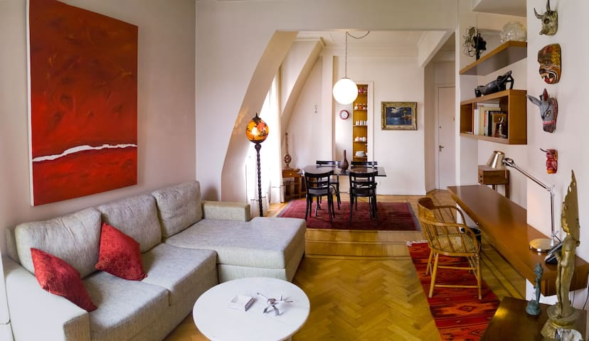 Cozy apartment on Callao great open views - Buenos Aires - Apartment