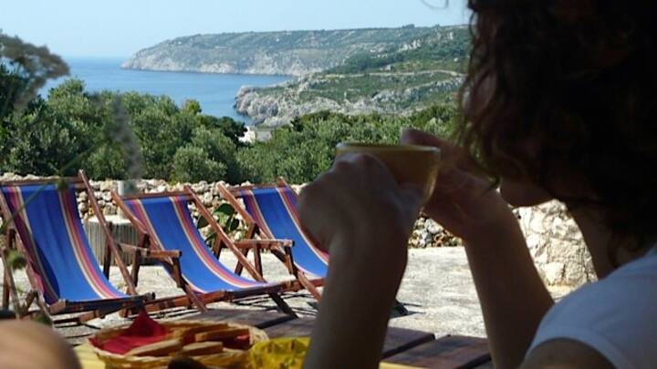 Villa with seaview -Marina Novaglie