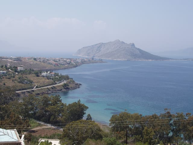 Villa in Aegina with excellent view - Nisi - Villa